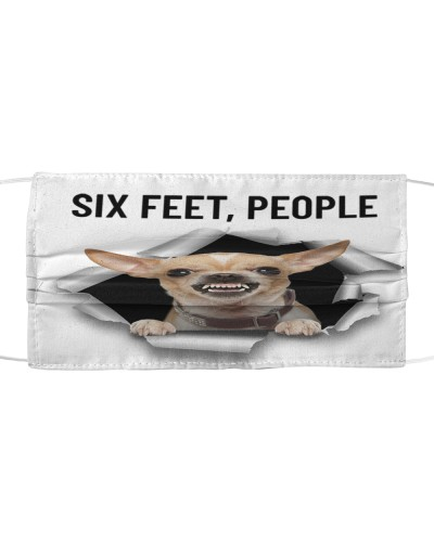 Th 2 chihuahua six feet people