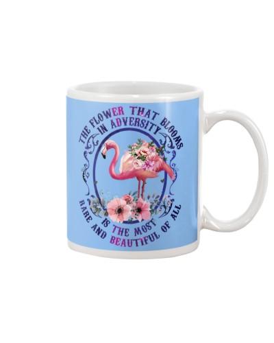Flower blooms in adversity Flamingo