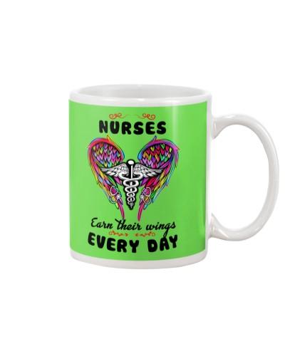 Nurse earn their wings