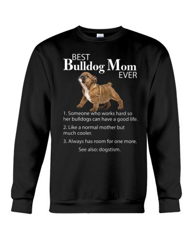 Ln Bulldog  best mom ever shirt