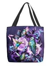 Hummingbird purple bag All-over Tote back