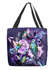 Hummingbird purple bag All-over Tote front