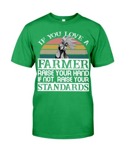 Chicken Love A Farmer