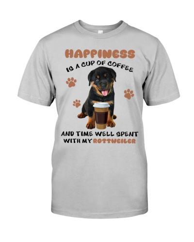 SHN 7 Coffee and time well spent with Rottweiler