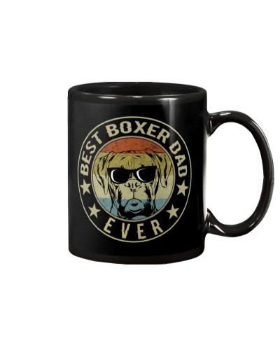 Best Boxer Dad Ever Vintage