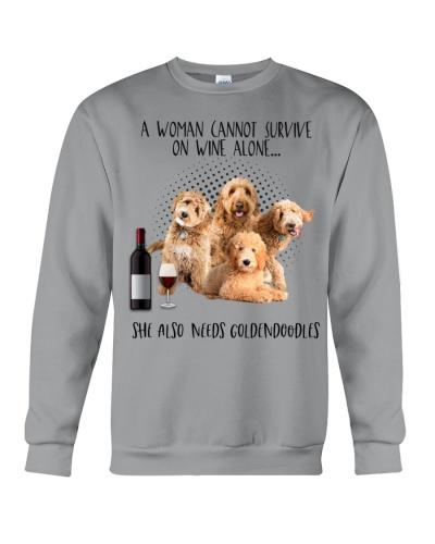 Goldendoodles wine she needs