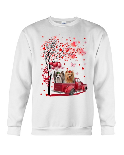 Mt Red Car Love Tree Yorkshire Terrier Shirt