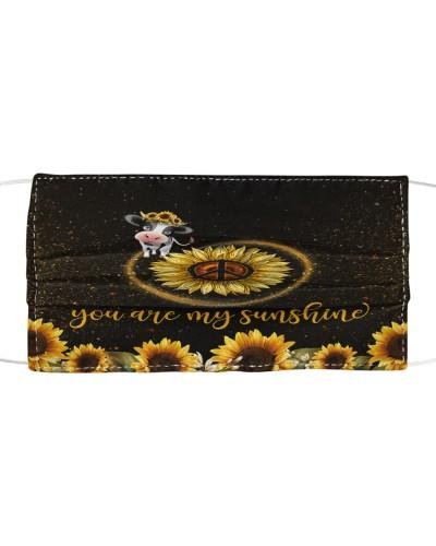 SHN 5 You are my sunshine sunflower Cow