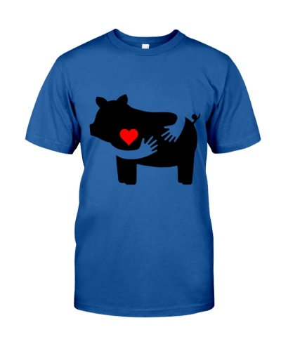 Pig Heart To Heart Hugs