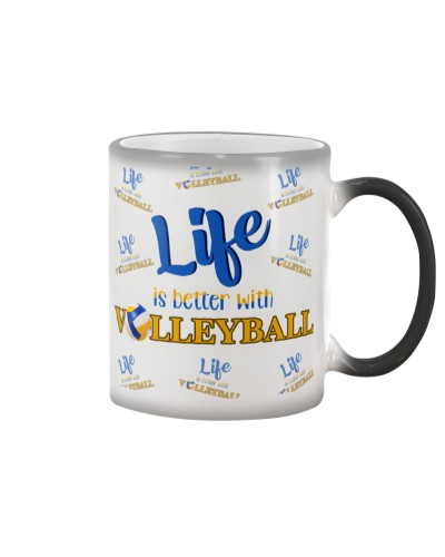 dt 9 volleyball life is better cloth 16520
