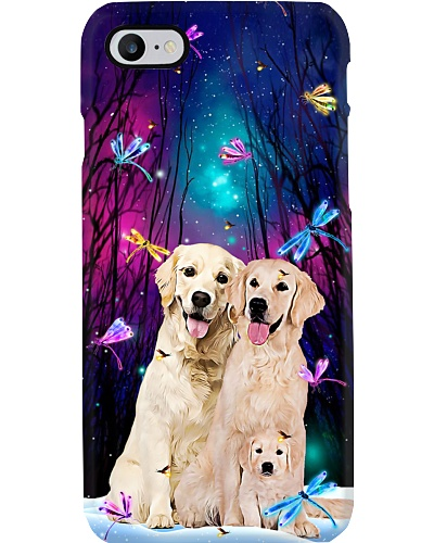 Qhn 7 Fairytale Forest Golden Phone Case