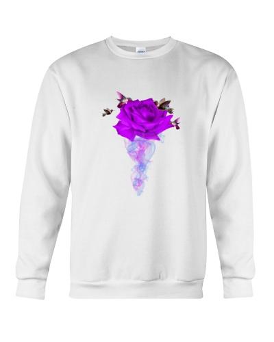 Humming bird violett flower for fall