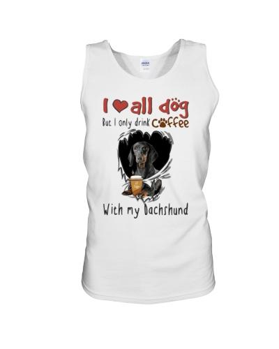 Dachshund coffee shirt