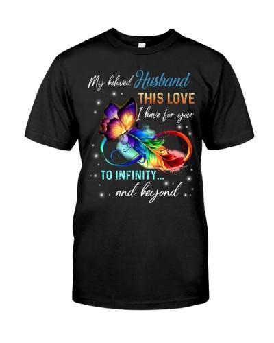 My beloved husband this love