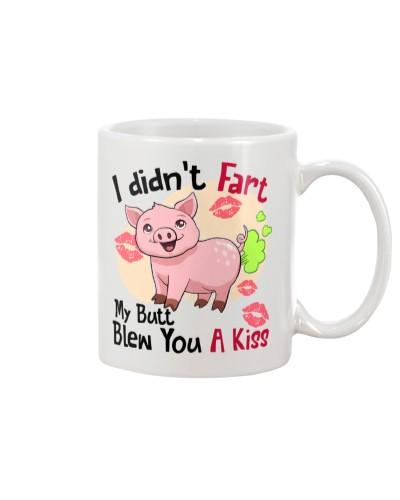 Pig a kiss mug