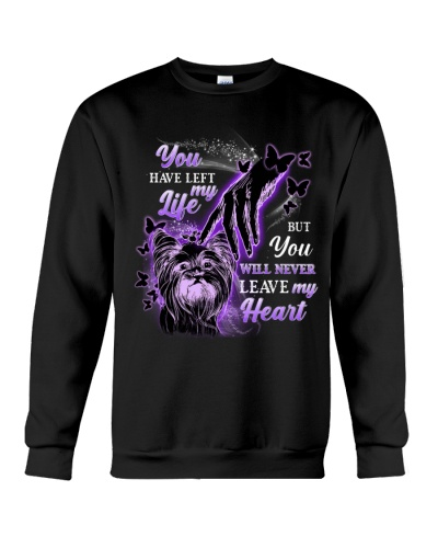 Ln 5 yorkshire terrier never leave my heart