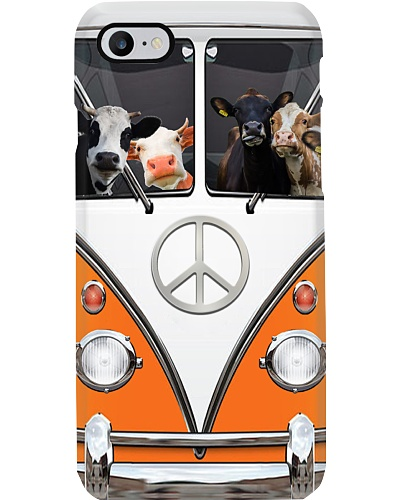 Cow peace car phone case