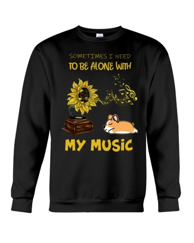 Sometimes I Need To Be Alone Corgi Shirt