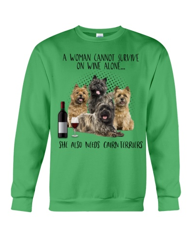 Cairn terriers wine she needs