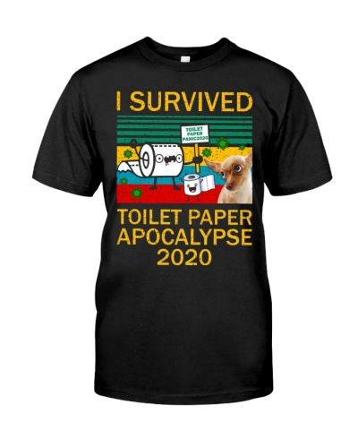Chihuahua I Survived Toilet Paper