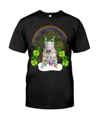 Kiss me bull terrier is irish shirt