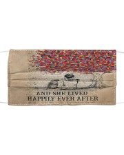 Th 7 Happily ever after a shar pei Cloth face mask front