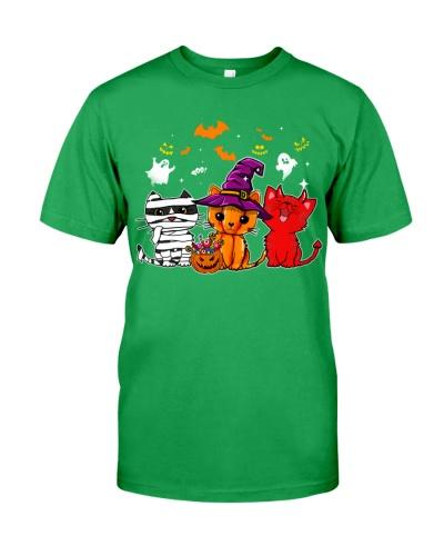 Cat Happy halloween shirt