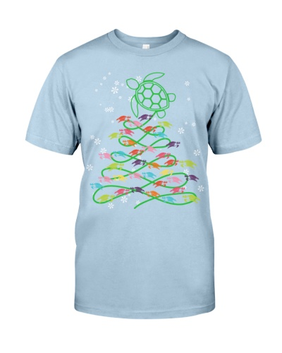 Turtle color christmas tree