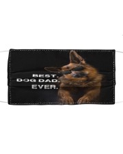 TH 32 German Shepherd Best Dog Dad Ever Cloth face mask front