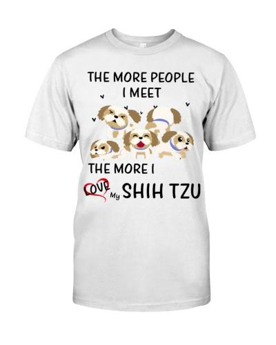 Shih tzu the more i love