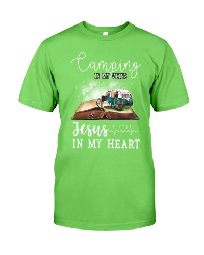 Camping and jesus