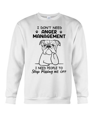 Ln bulldog I dont need anger management