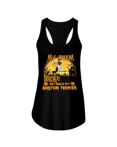 Boston terrier my broom