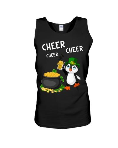 Penguin cheer cheer cheer
