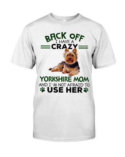 Yorkshire Terrier Back Off