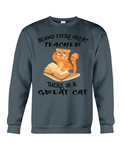 Great teacher great cat shirt