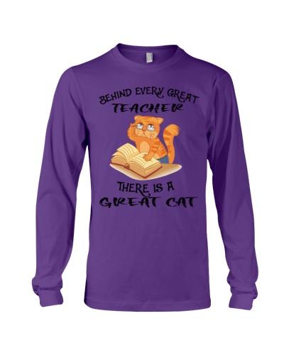 Great teacher great cat shirt