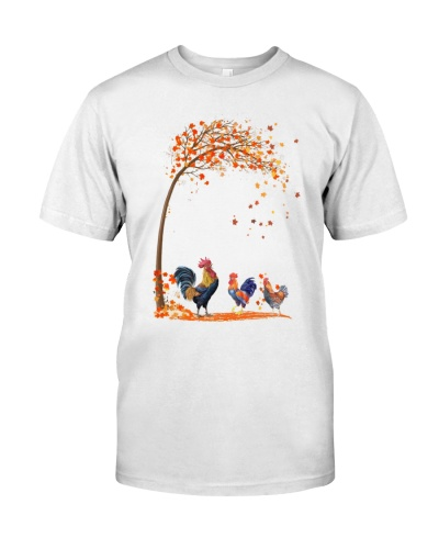 Chicken tree autumn