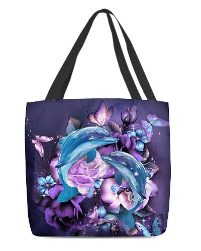 Dolphins purple bag