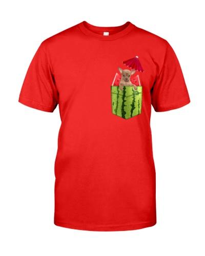 Chihuahua Watermelon Pocket