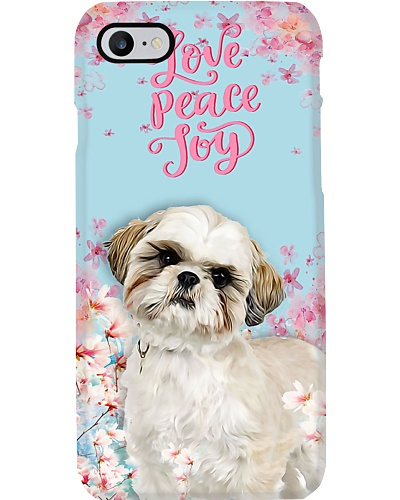 Shih Tzu love peace joy