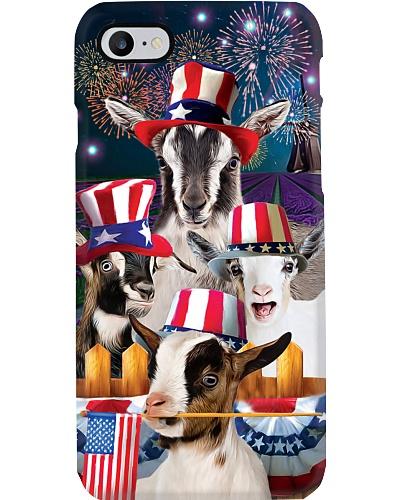 SHN 9 American farm July 4th Goat