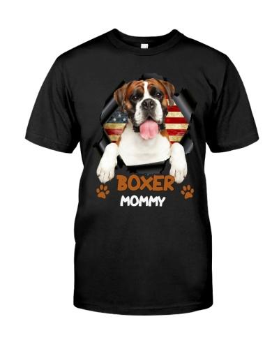Boxer Flag Mom
