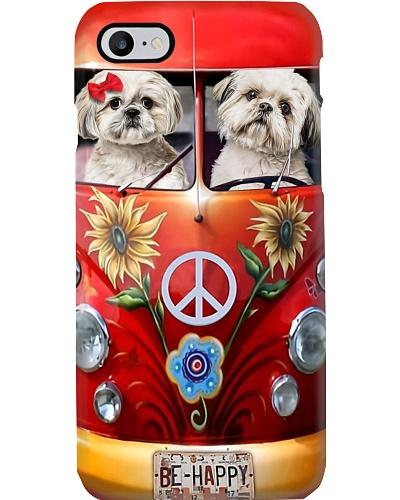 Mt 8 Peace Car Shih Tzu Phone Case