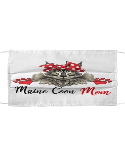 Maine Coon Cat Love Mom