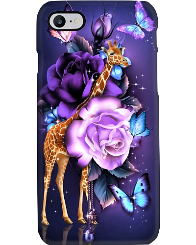 Giraffe magical phone case
