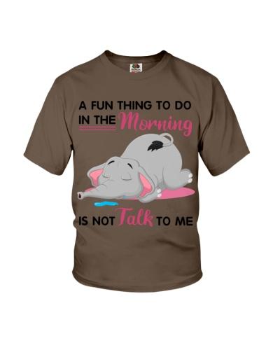 Elephant a fun thing