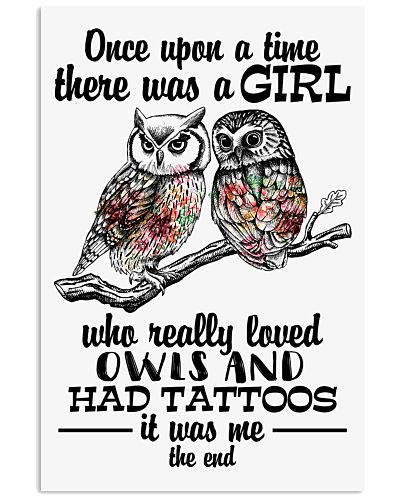 Owl and tattoo the end
