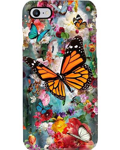SHN 10 Vaporous garden flower with Butterfly
