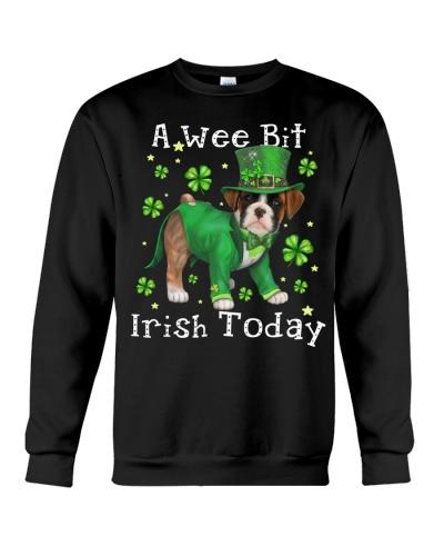 Boxer wee bit irish today